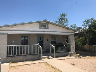 El Paso Single Family Home For Sale: 4005 Cumberland Avenue