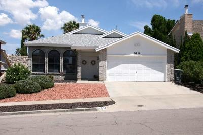 El Paso Single Family Home For Sale: 6737 Marble Canyon Drive