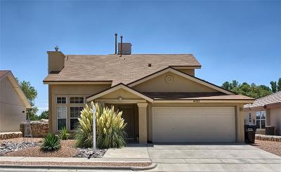 Horizon City Single Family Home For Sale: 14012 Lago Azul Street