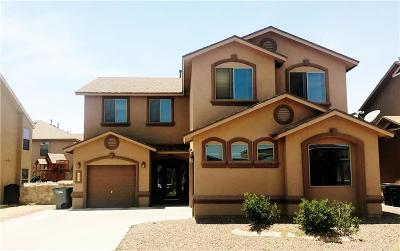 Horizon City Single Family Home For Sale: 1337 Noble Path Place