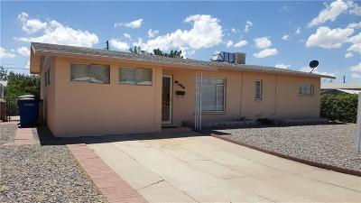 El Paso Single Family Home For Sale: 5904 Athens Court