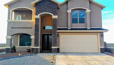 Horizon City Single Family Home For Sale: 12533 Arrow Weed Drive