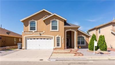 Horizon City Single Family Home For Sale: 12452 Paseo Alegre Drive