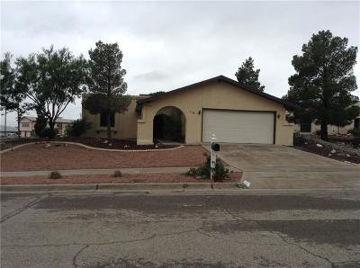 El Paso Single Family Home For Sale: 113 New Orleans Drive