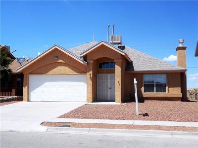 Horizon City Single Family Home For Sale: 12373 Paseo Alegre Drive