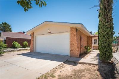El Paso Single Family Home For Sale: 11444 Lake Nasser Drive