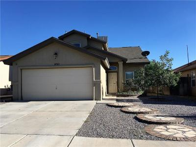 El Paso Single Family Home For Sale: 14312 Pacific Point Drive