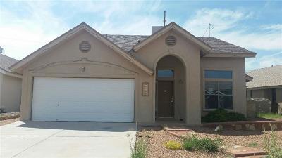 San Elizario Single Family Home For Sale: 1082 Oscar Chacon