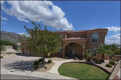 El Paso Single Family Home For Sale: 6373 Calle Placido Drive