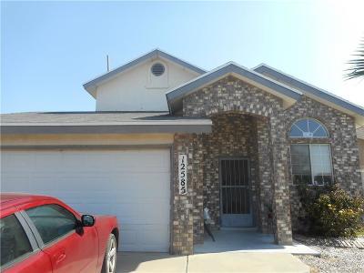 El Paso Single Family Home For Sale: 12585 Tierra Dura Drive
