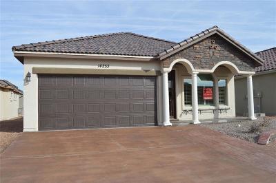 El Paso Single Family Home For Sale: 14337 Nick Drahos Lane