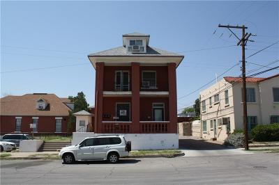 El Paso Multi Family Home For Sale: 809 Newman Street #4