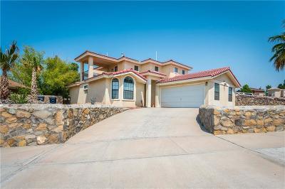 El Paso Single Family Home For Sale: 6913 Crown Ridge Drive