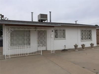 El Paso Single Family Home For Sale: 625 Francis Street
