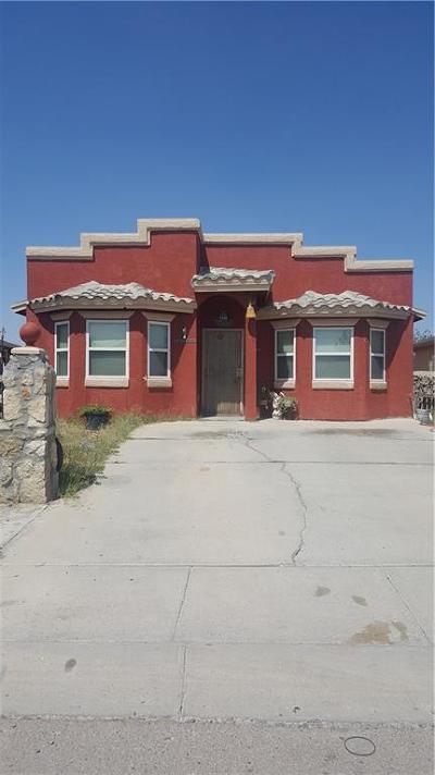 San Elizario Single Family Home For Sale: 1409 Enrique Perez Circle