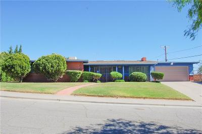 El Paso Single Family Home For Sale: 1604 Bolton Place