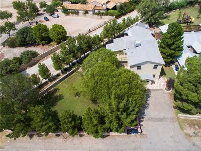 El Paso Single Family Home For Sale: 315 Sunset Road