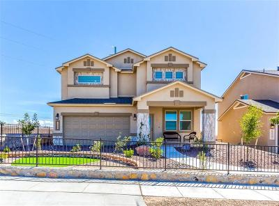 El Paso Single Family Home For Sale: 6448 Villaggio Drive