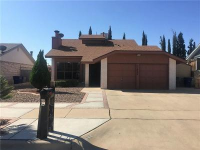 El Paso TX Single Family Home For Sale: $134,000