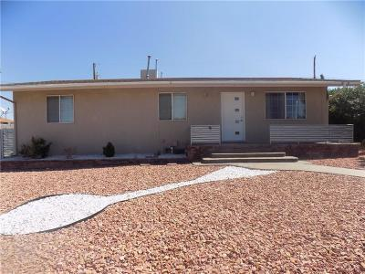 Canutillo Single Family Home For Sale: 1622 Hannibal Road