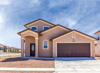 El Paso Single Family Home For Sale: 14932 Boer Trail