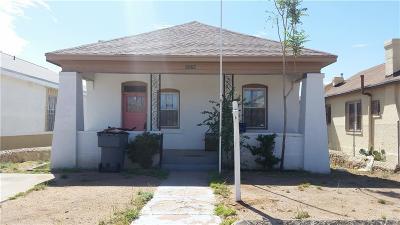 Single Family Home For Sale: 3226 Sacramento Avenue