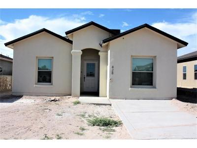 Canutillo Single Family Home For Sale: 472 Isaias Avenue