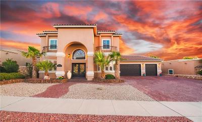 Horizon City Single Family Home For Sale: 13552 Emerald Terrace Drive