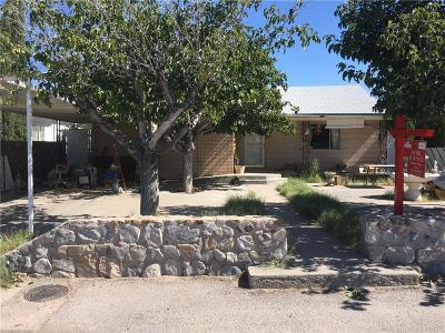 Anthony Single Family Home For Sale: 809 Main