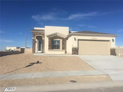 El Paso Single Family Home For Sale: 7853 Enchanted Trail Drive