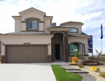 El Paso Single Family Home For Sale: 7828 Enchanted View Drive