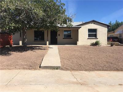 El Paso Single Family Home For Sale: 820 Huckleberry