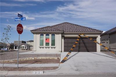 Horizon City Single Family Home For Sale: 13101 Freshford Drive