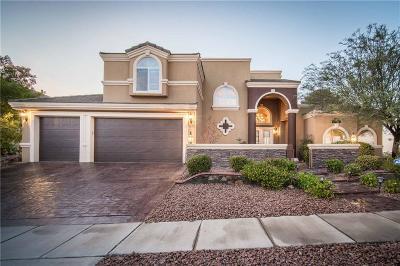 El Paso Single Family Home For Sale: 1279 Franklin Bluff Drive
