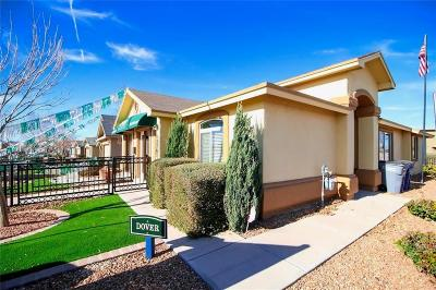 El Paso Single Family Home For Sale: 11148 Colbert Coldwell Lane