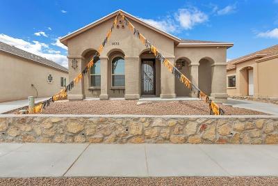 Horizon City Single Family Home For Sale: 14332 Tobe Davis