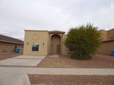 Socorro Single Family Home For Sale: 510 Villas Del Valle Road