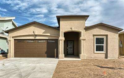 Socorro Single Family Home For Sale: 10469 Brooke Lauren Place
