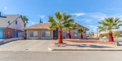 El Paso Single Family Home For Sale: 1865 Sonoma Place