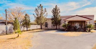 Socorro Single Family Home For Sale: 184 Santa Paula Drive