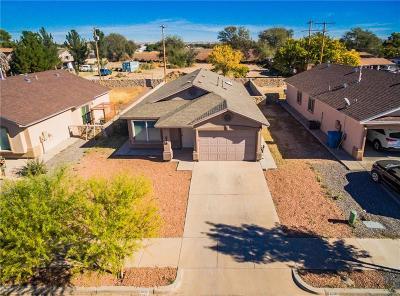 Socorro Single Family Home For Sale: 606 Villas Del Valle