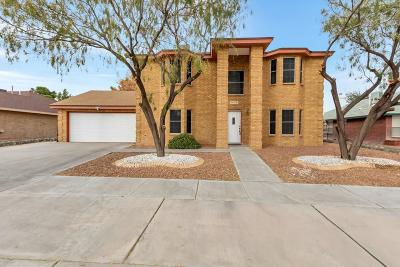 Horizon City Single Family Home For Sale: 14013 Jeweled Desert Drive