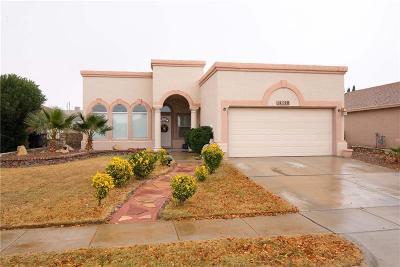 Single Family Home For Sale: 14128 Warren Belin Drive