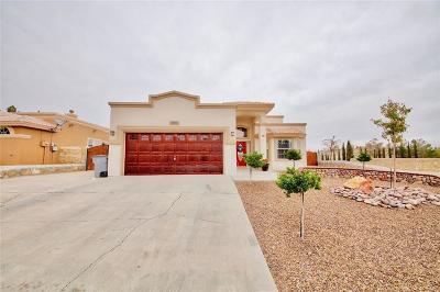 El Paso Single Family Home For Sale: 1300 Cynthia Farah Place