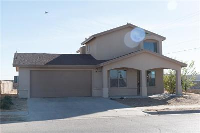 Horizon City Single Family Home For Sale: 14700 Cactus View Court