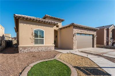 Horizon City Single Family Home For Sale: 1116 Marathon Place
