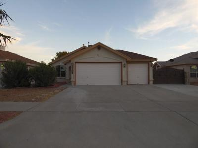 Horizon City Single Family Home For Sale: 14016 Lago Seco Drive