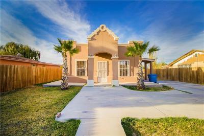 Socorro Single Family Home For Sale: 571 Fray Olguin Court