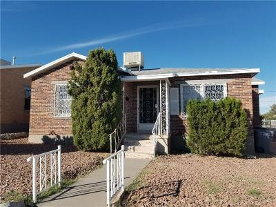 El Paso Single Family Home For Sale: 3123 Nations Ave