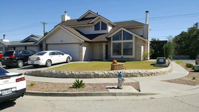 El Paso Single Family Home For Sale: 700 Orinoco Way